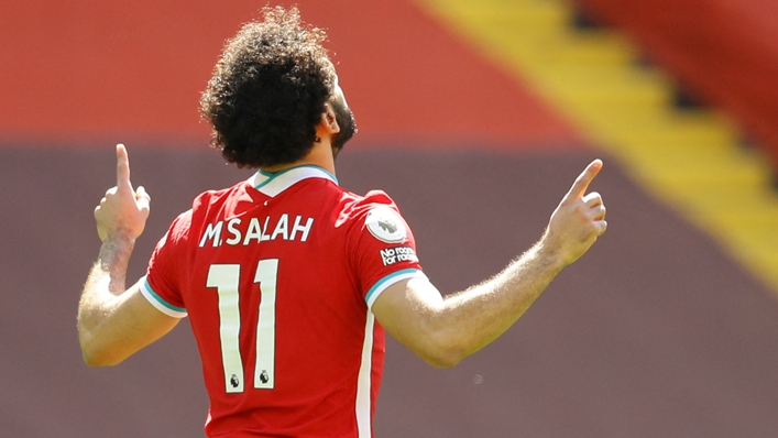 Mohamed Salah has a prolific opening day record