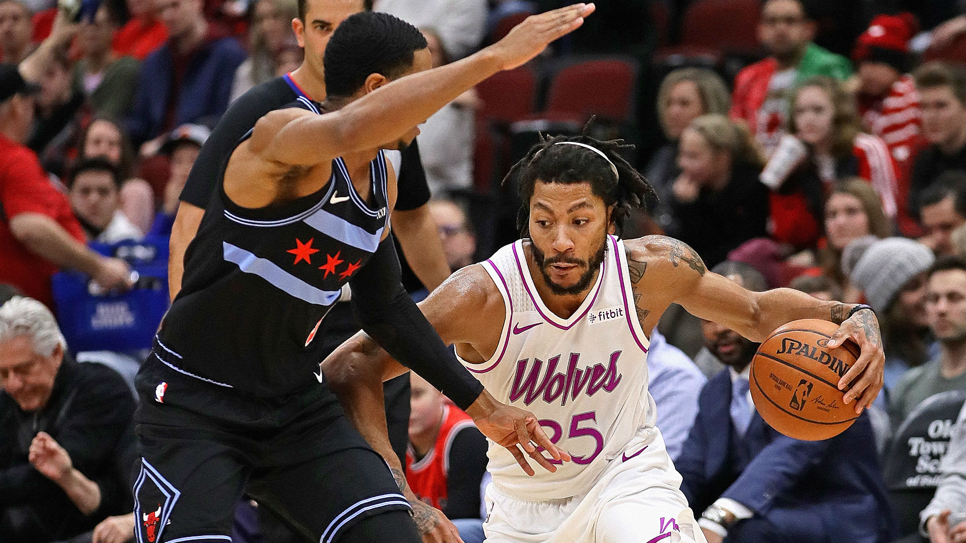 8218359b3830 NBA wrap  Derrick Rose gets  MVP  chants in Chicago return  Spurs knock  Nuggets out of first place in the West
