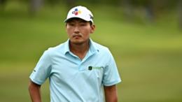 South Korean golfer Sung Kang