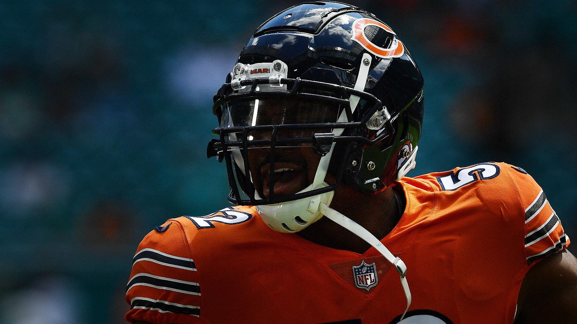 quality design e4b9b 855ca Bears' Khalil Mack questionable for game vs. Patriots ...