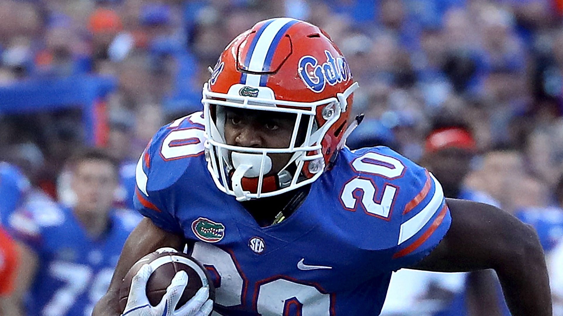 Florida RB Malik Davis out for season with knee injury, report says