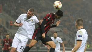 AEK Athens and AC Milan - cropped