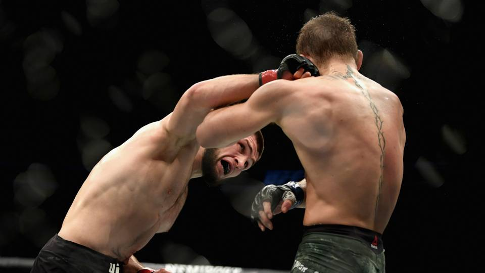 Conor McGregor, Khabib Nurmagomedov temporarily suspended for brawl, report says