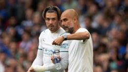 Pep Guardiola praised Jack Grealish's Wembley cameo