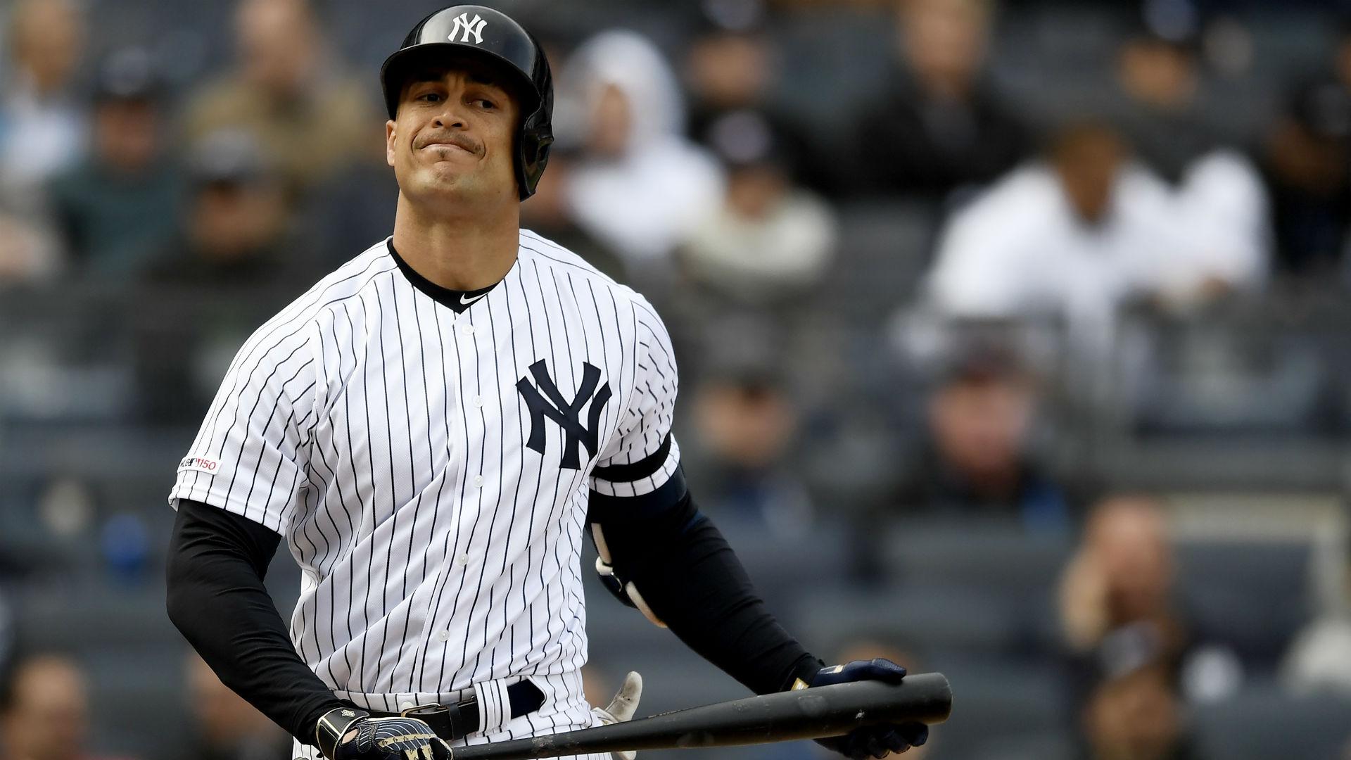 Giancarlo Stanton injury update: Yankees star's status unclear after MRI on knee