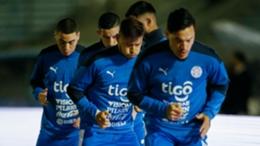 Paraguay prepare for the Copa America