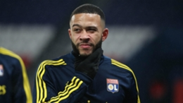 Lyon forward Memphis Depay has been linked with Barcelona