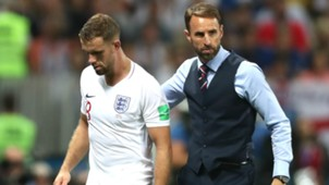 Jordan Henderson and Gareth Southgate - cropped