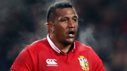 Mako Vunipola starts for the Lions in Cape Town