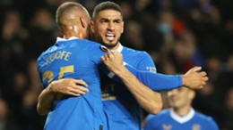 Balogun opened the scoring with his first Rangers goal