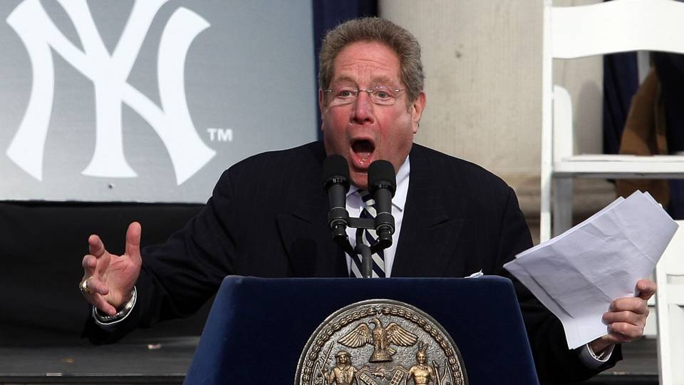 Yankees announcer John Sterling will continue Italian home run call for Giancarlo Stanton