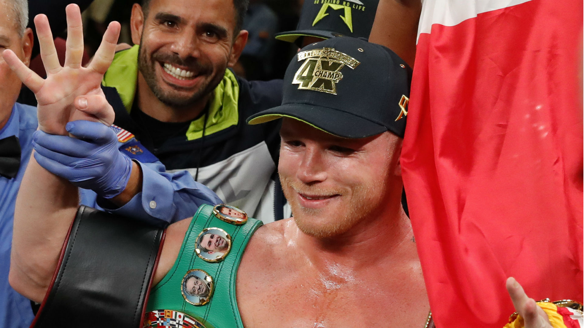 Canelo Alvarez to 'continue making history' after becoming four-weight world champion
