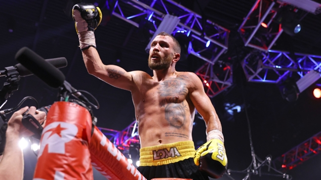 Vasyl Lomachenko got back on track with a victory