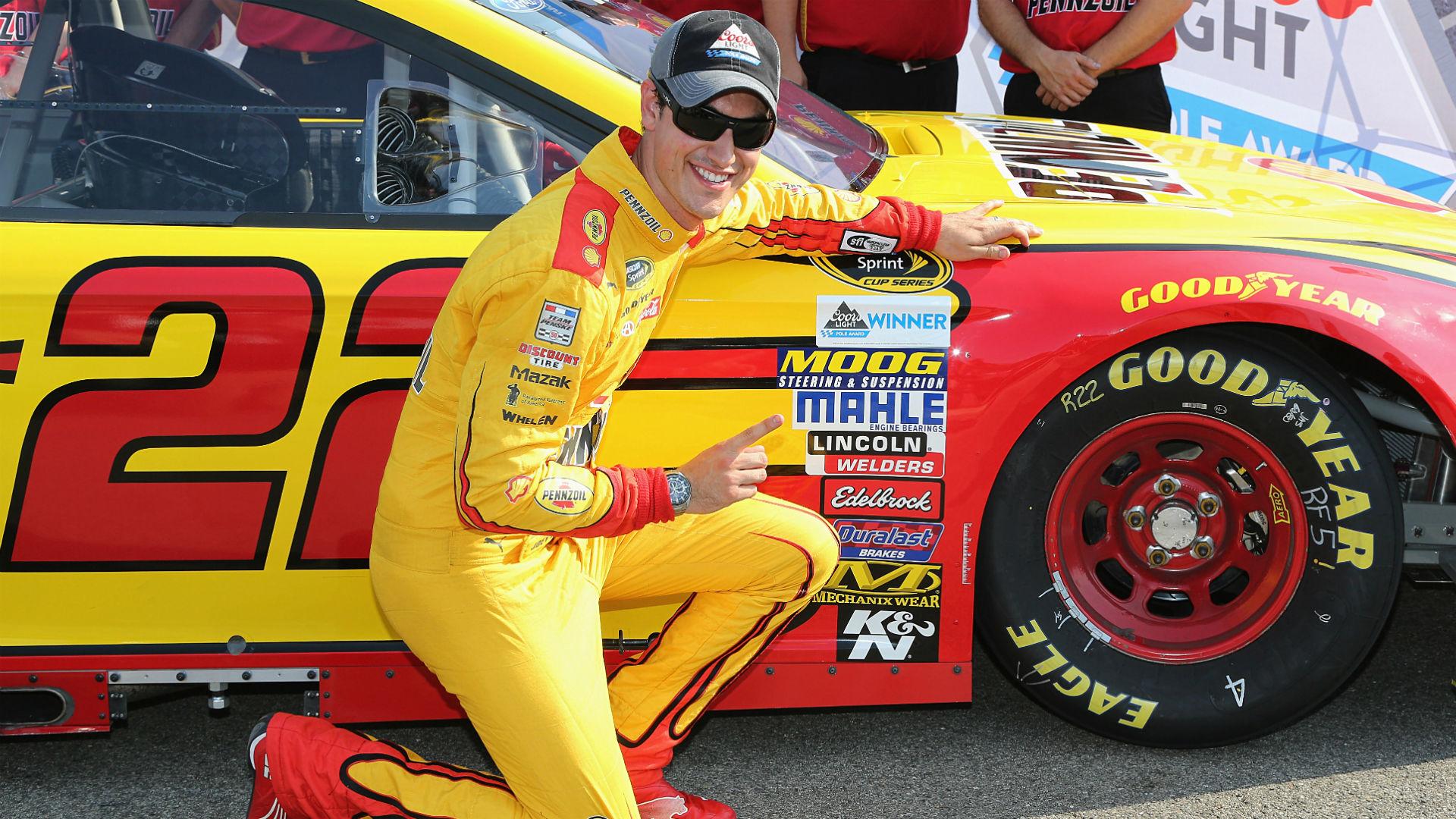 NASCAR starting lineup at Daytona: Joey Logano on pole as lightning cancels qualifying
