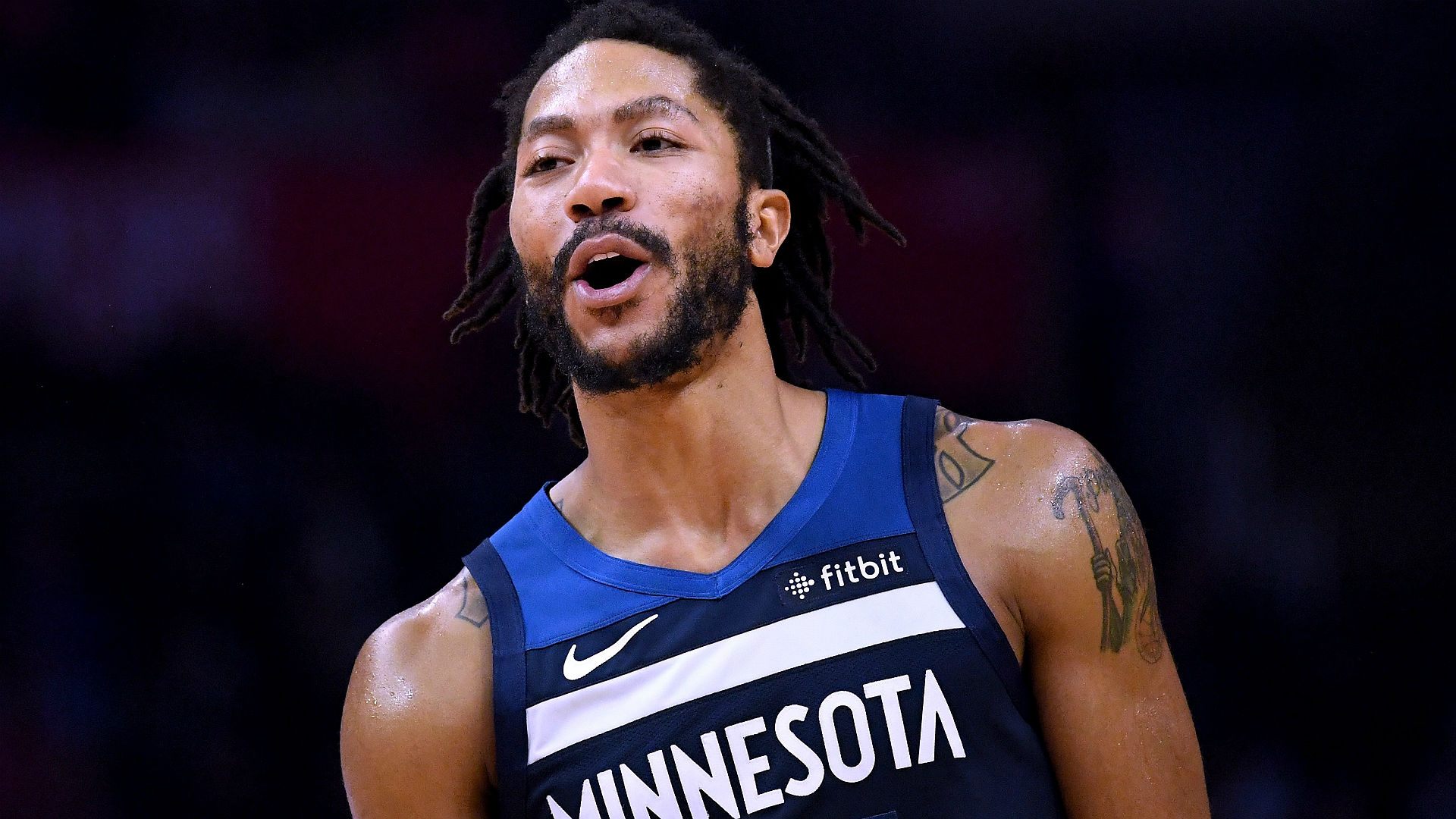 5106f42f7700 Timberwolves G Derrick Rose on bounce-back season   This is the happiest  I ve been in a long time