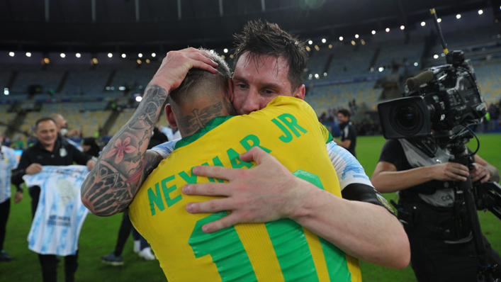 Lionel Messi and Neymar are good friends off the field