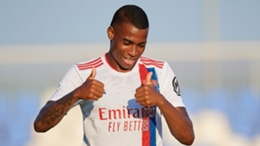 Jean Lucas in pre-season action for Lyon prior to joining Monaco