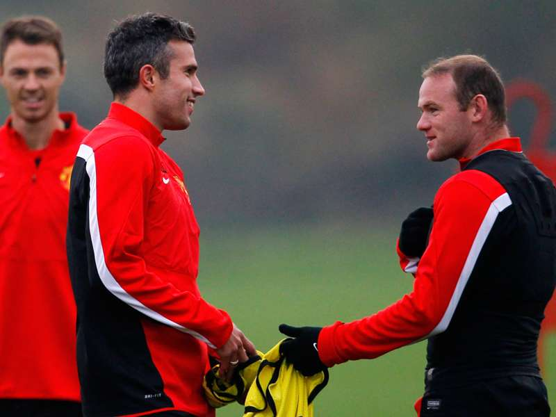 Wayne Rooney and Robin Van Persie could return for Manchester United against Cardiff
