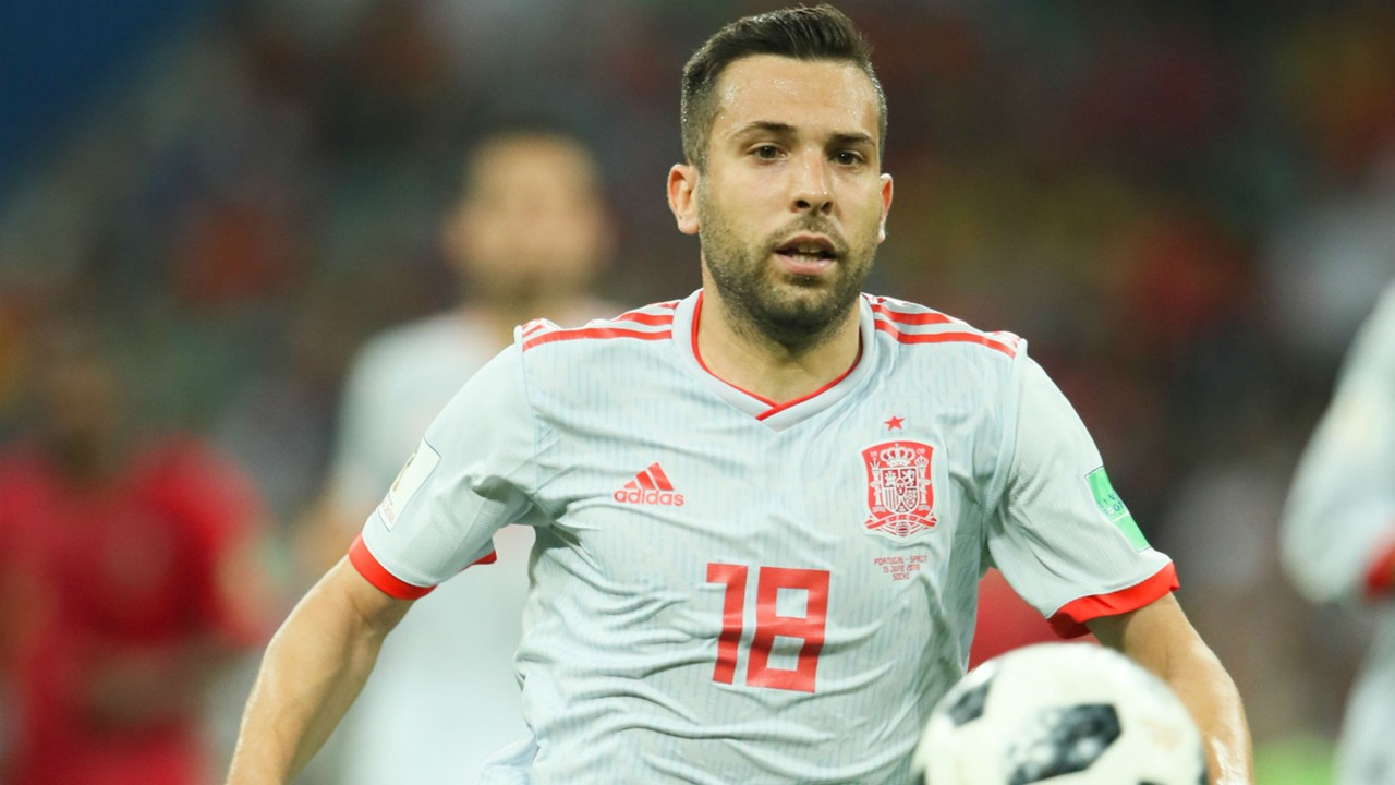 Alba denies Luis Enrique bust-up after earning Spain recall