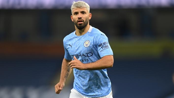 Manchester City forward Sergio Aguero
