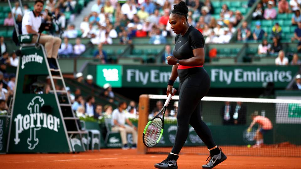 Nike responds to Serena Williams' 'catsuit' ban with motivational message