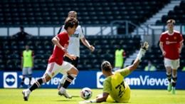Pellistri got the decisive goal against Derby County