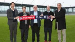 Bayern Munich and FC Dallas partnership