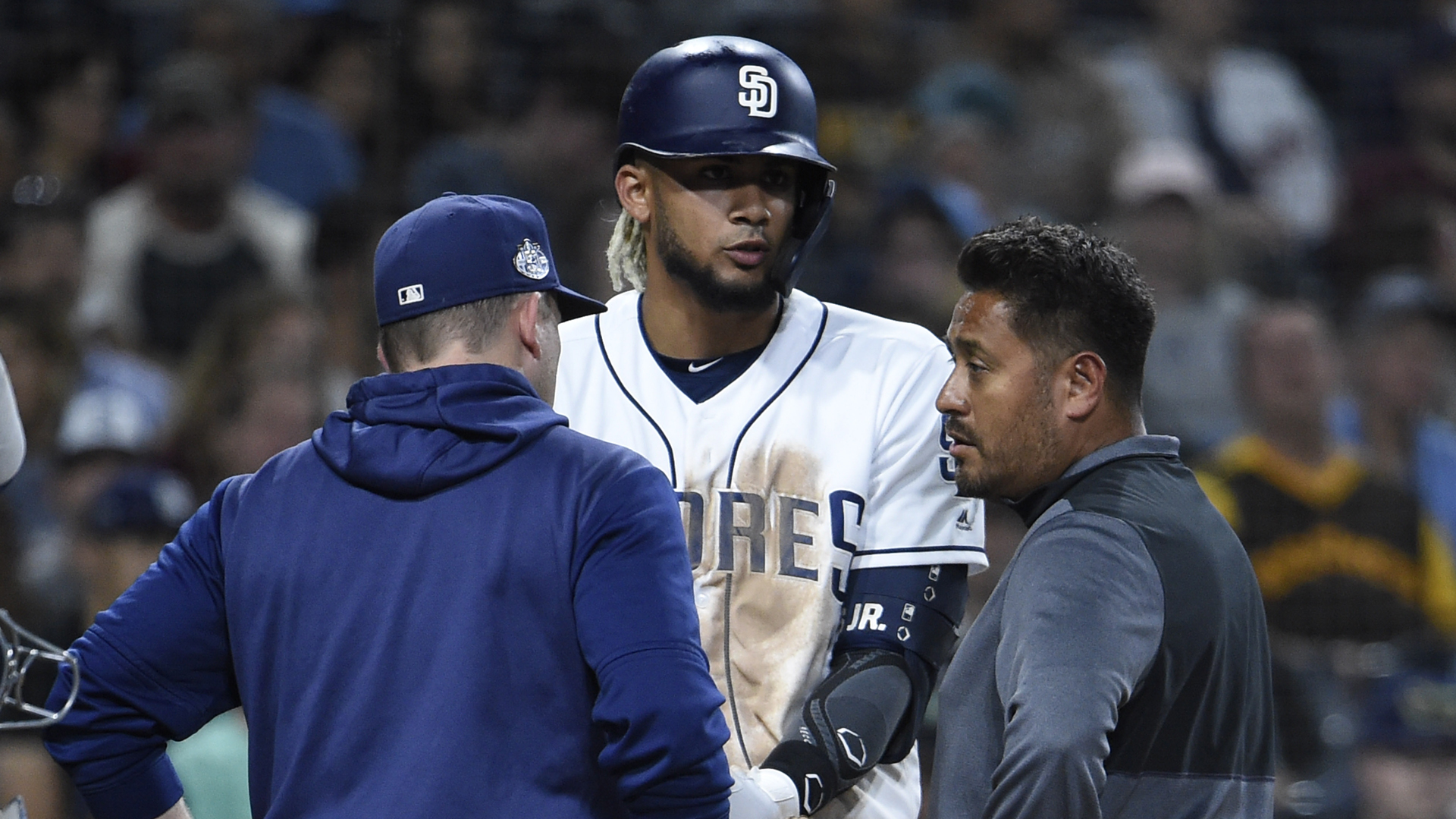 Fernando Tatis Jr. injury update: Padres' star rookie (back) likely done for season, manager says