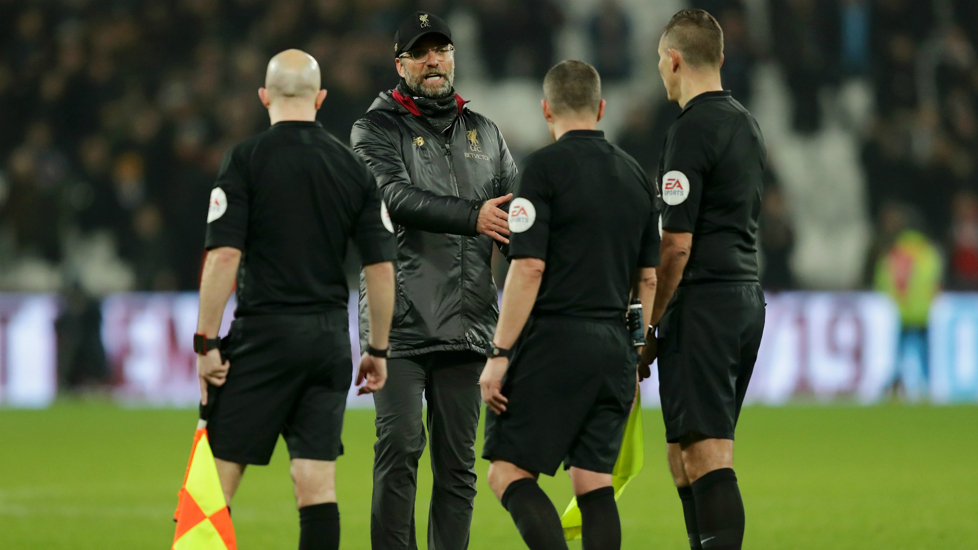FA charge Liverpool boss Klopp over referee comments
