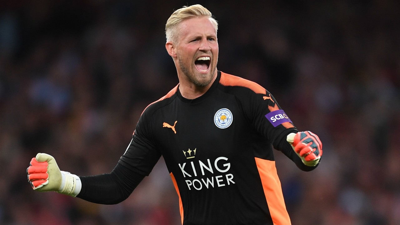 Schmeichel penalty save seals slice of family history