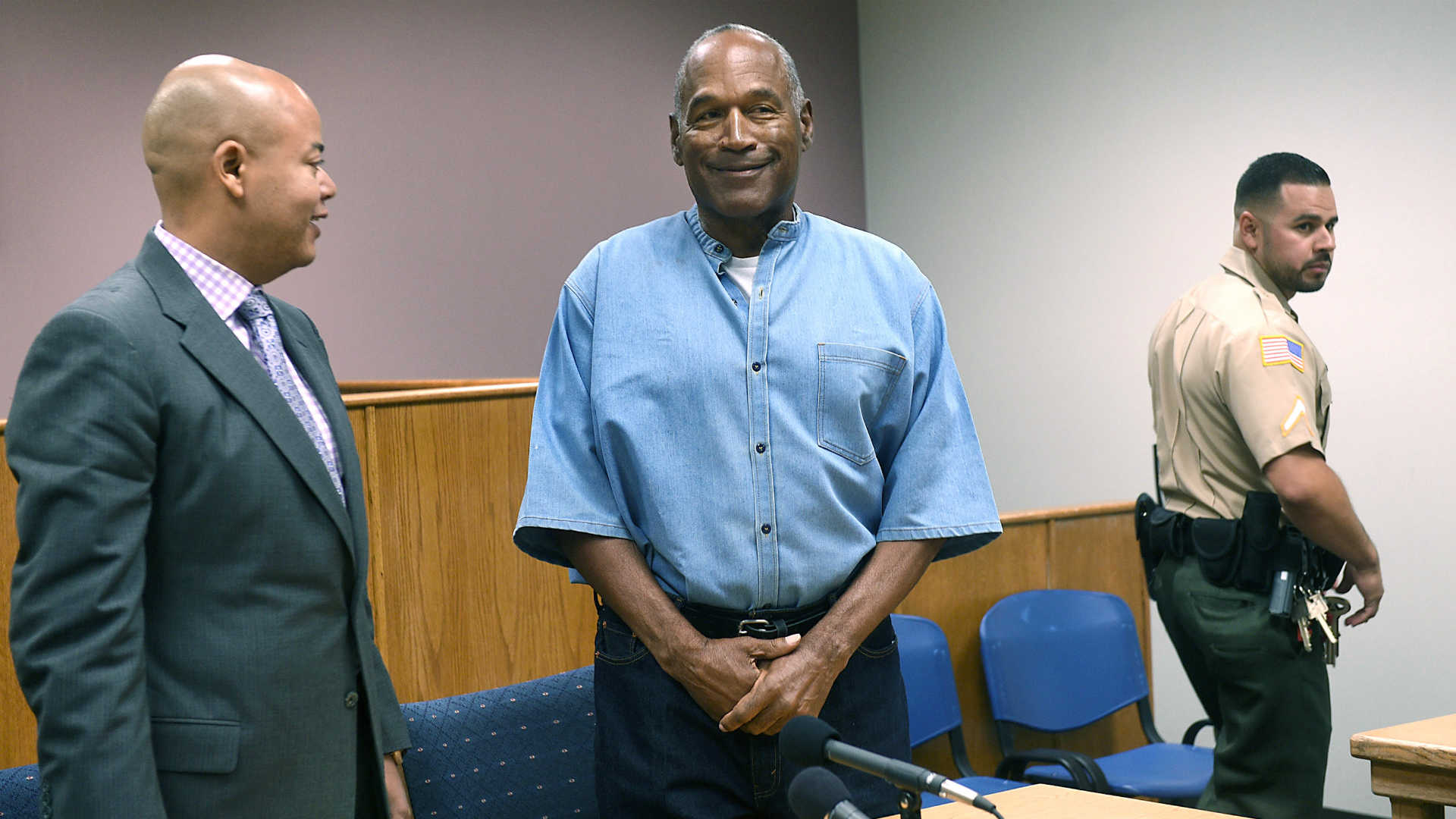 Why was O.J. Simpson banned from hotel-casino on Vegas Strip?