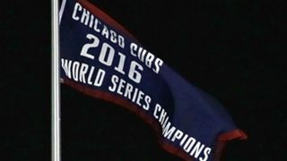Cubs World Series banner