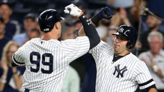 Aaron Judge (left) and Gary Sanchez