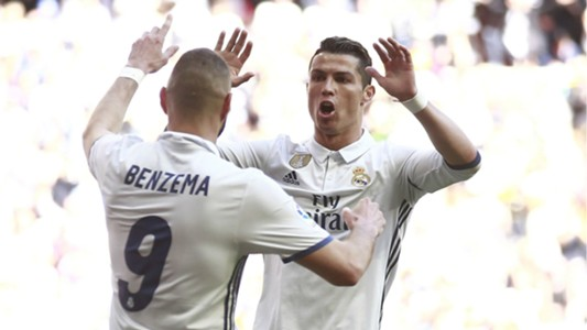 Benzema and Ronaldo - Cropped