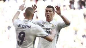 Benzema and Ronaldo - Cropped