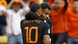 Memphis Depay and Donyell Malen