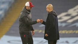Jurgen Klopp and Pep Guardiola will meet once again when Liverpool and Manchester City clash on Sunday