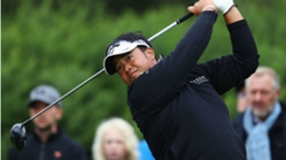 Kiradech Aphibarnrat took the outright lead at Wentworth after the second round of the European Tour's BMW PGA Championship
