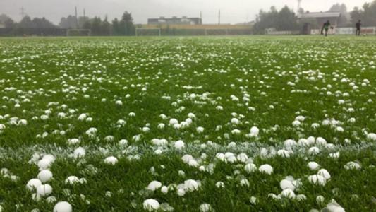 Hailstones at Kasimpasa