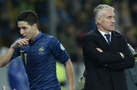 Nasri and Deschamps - cropped