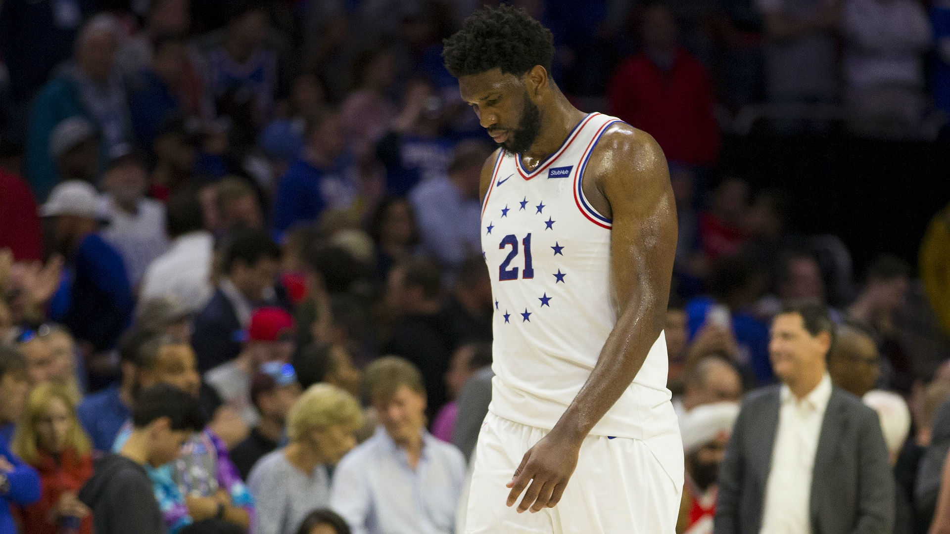 e035a854c83 Embiid played through illness in 76ers  Game 4 loss