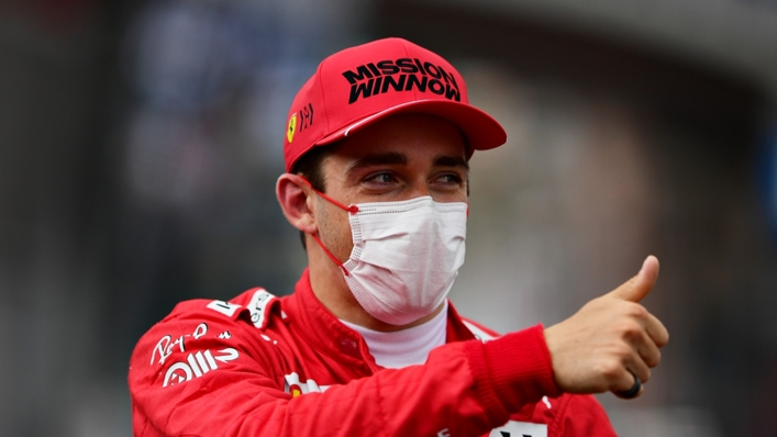 Leclerc narrowly missed out on a podium finish at the Turkish Grand Prix