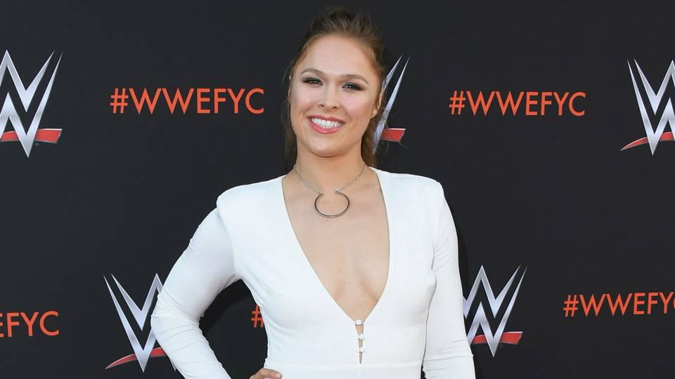 Ronda Rousey highlights WWE's first all-women main event