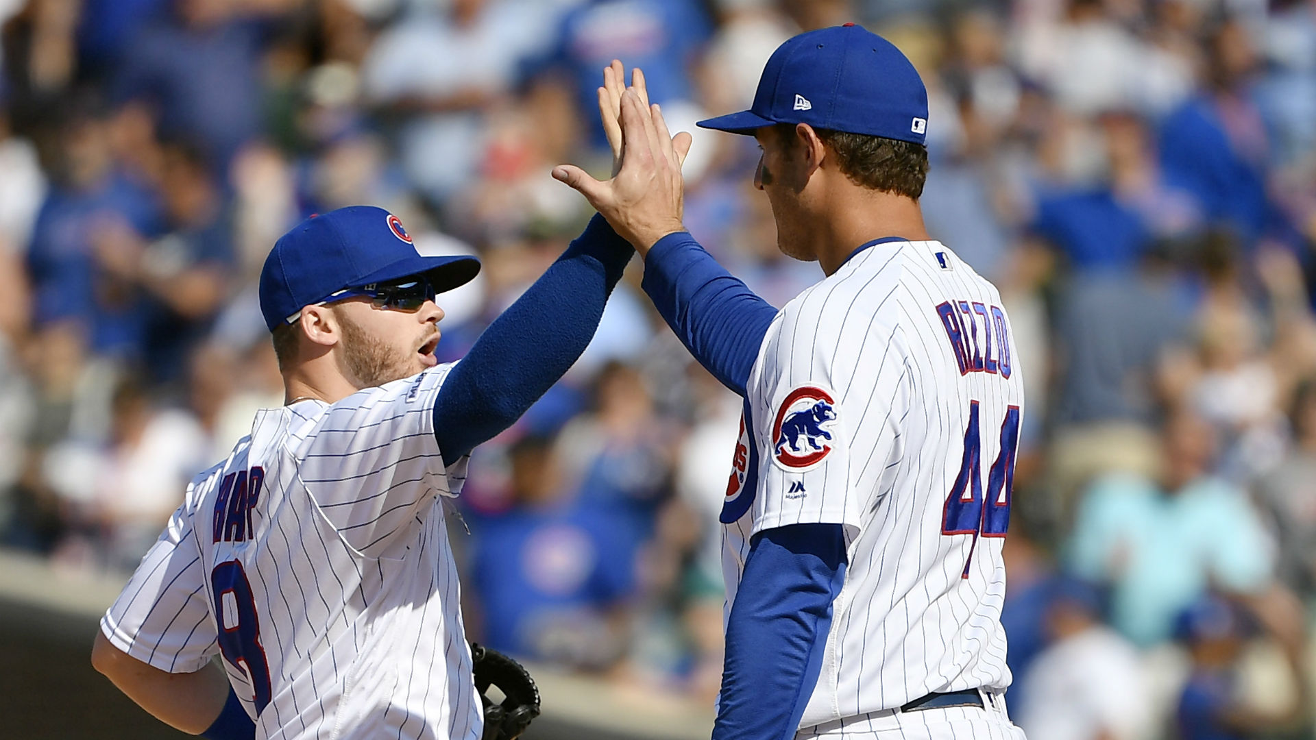 MLB wrap: Cubs finish 3-game sweep of Brewers to pad lead in tight NL Central race