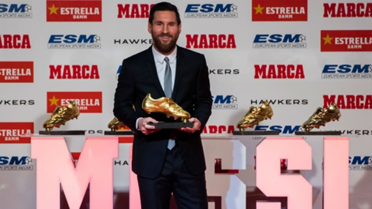 GOLDEN SHOE WINNER 2019
