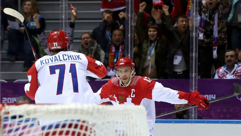 Russia's Olympic hockey team dotted with NHL experience