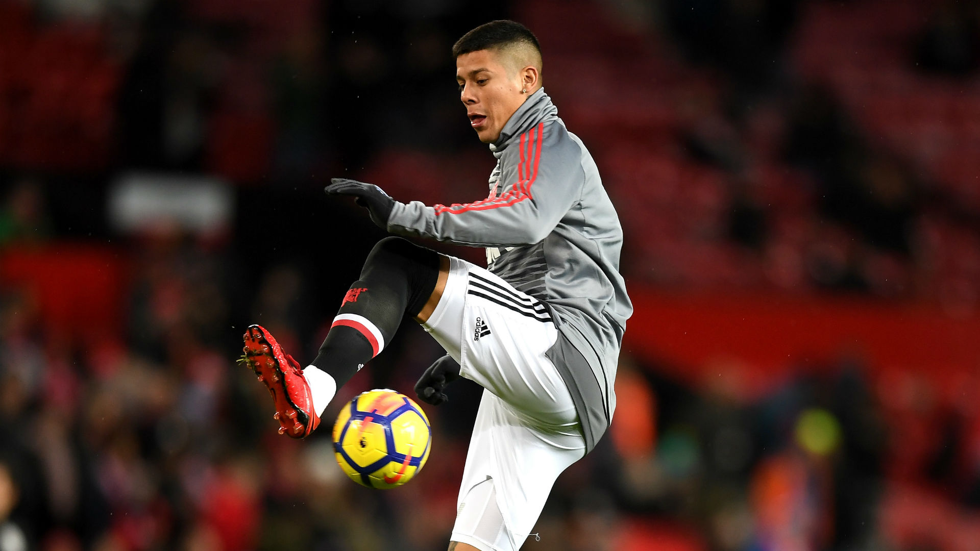 Marcos Rojo suffers injury setback on return