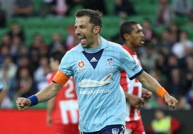 Sydney-Heart Preview: Del Piero to return, Heart seek first win