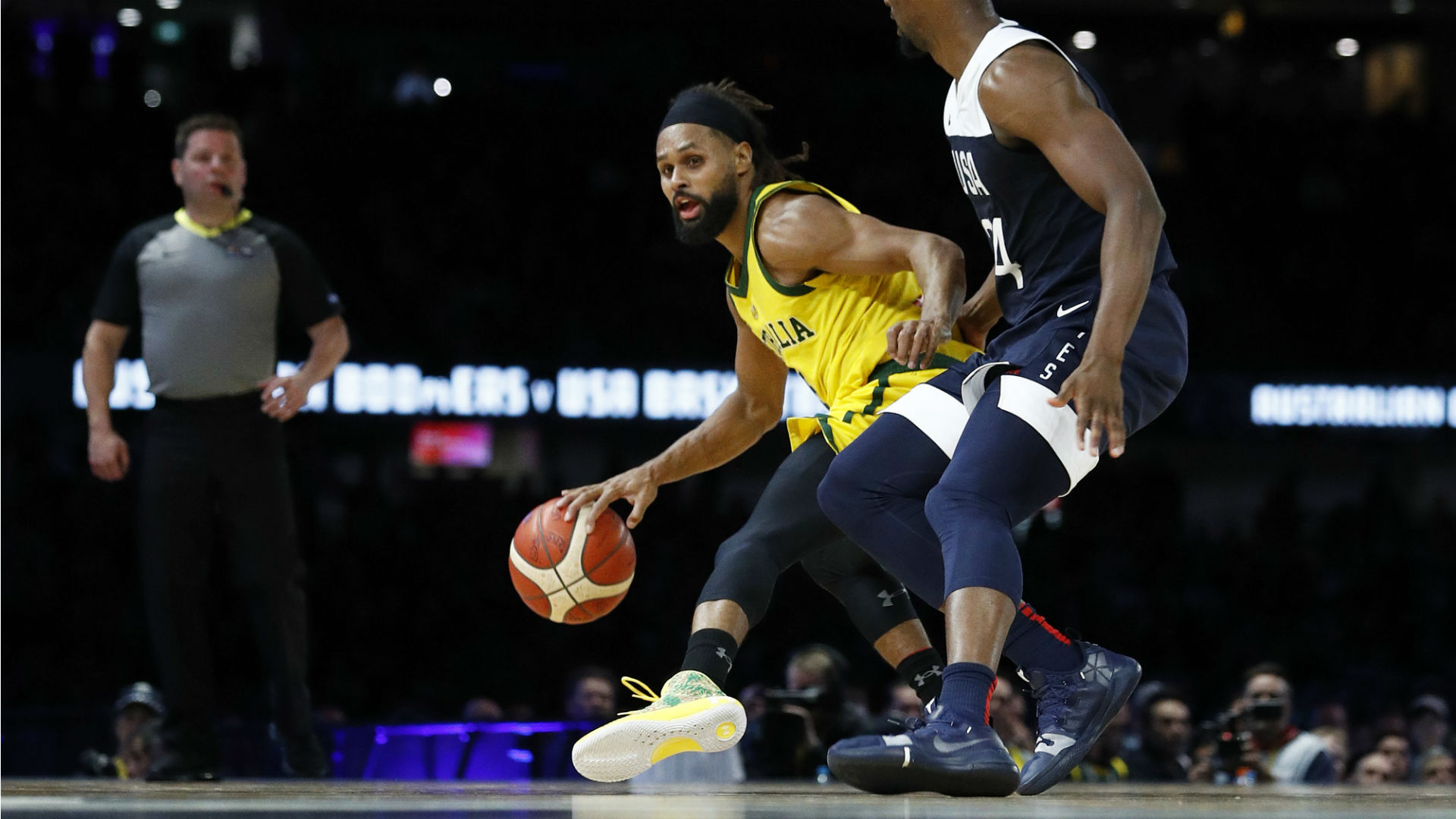 FIBA World Cup 2019: Patty Mills calls Aussies' win over U.S. 'a building block for us'