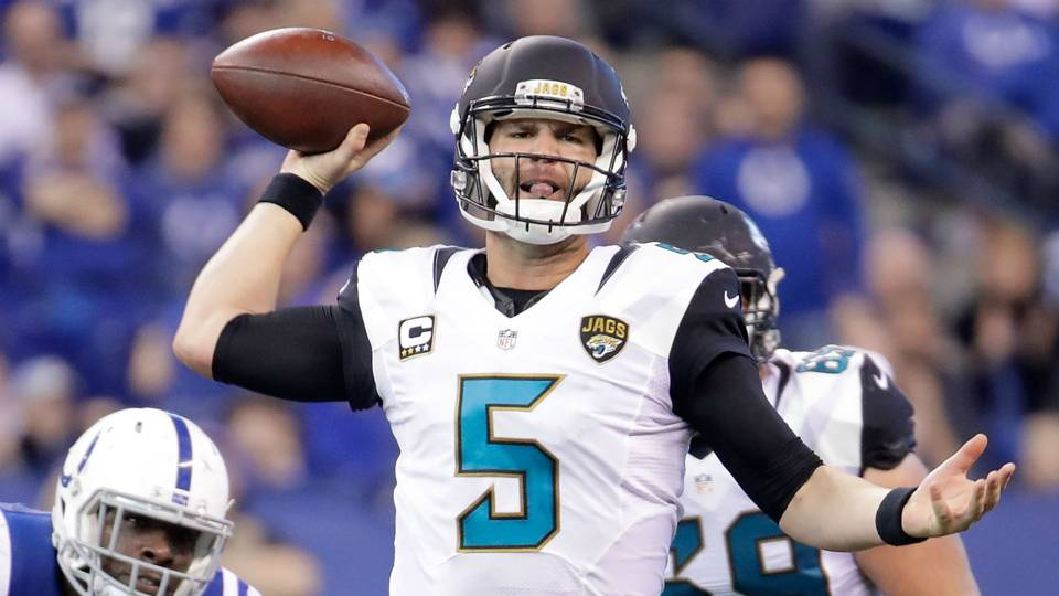 Jaguars sign Blake Bortles to three-yr, $fifty four million extension